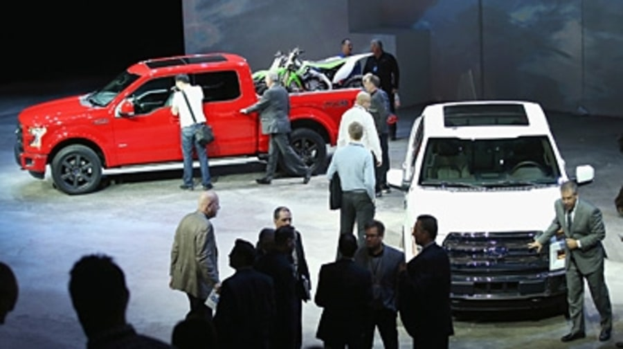 The Ford F-150 Leads the Pack in Detroit