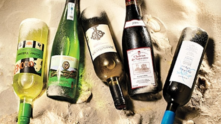 Wines for a Day at the Beach