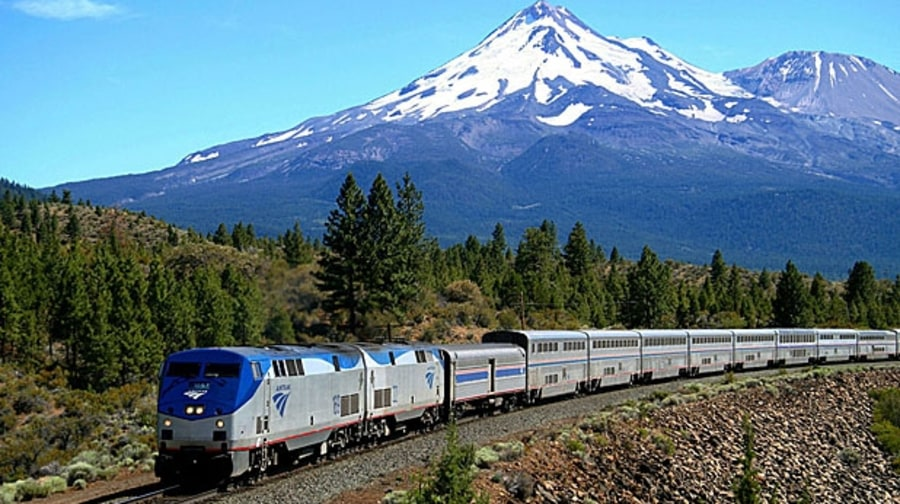 Amtrak Sleeper Car: The Empire Builder, Chicago to Seattle