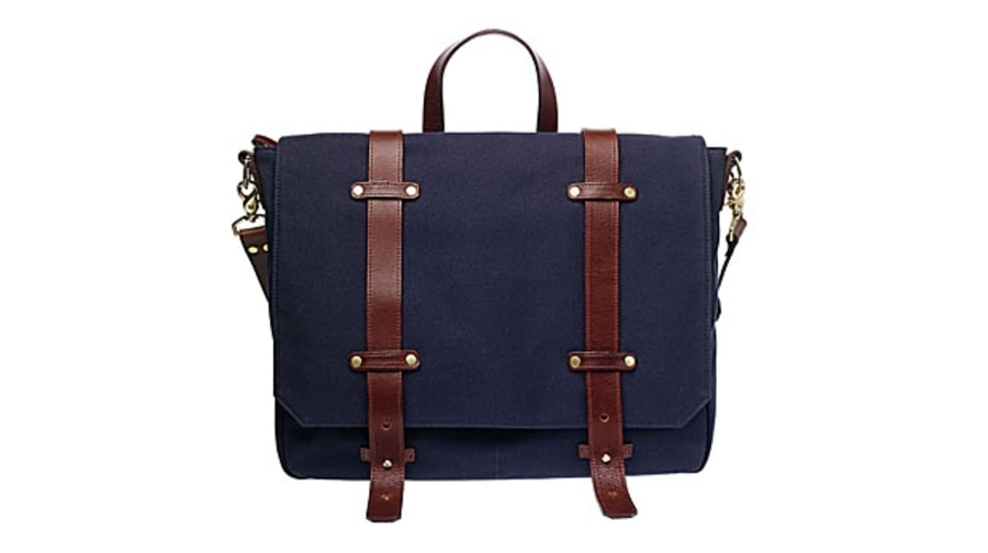 Ernest Alexander Irving Cotton Satchel