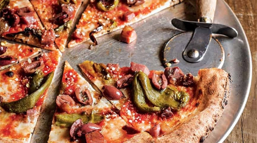 Andrew Ticer and Michael Hudman's Lil' Red Ed Pizza