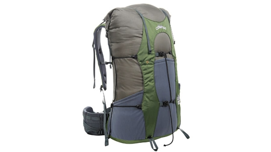 Granite Gear and Klymit Crown VC 60 pack frame.