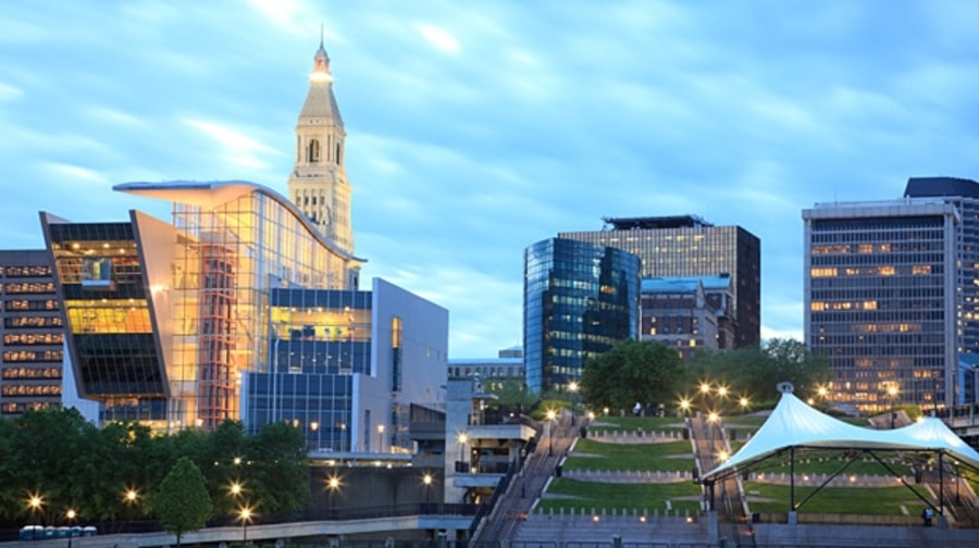 9. Hartford, Connecticut