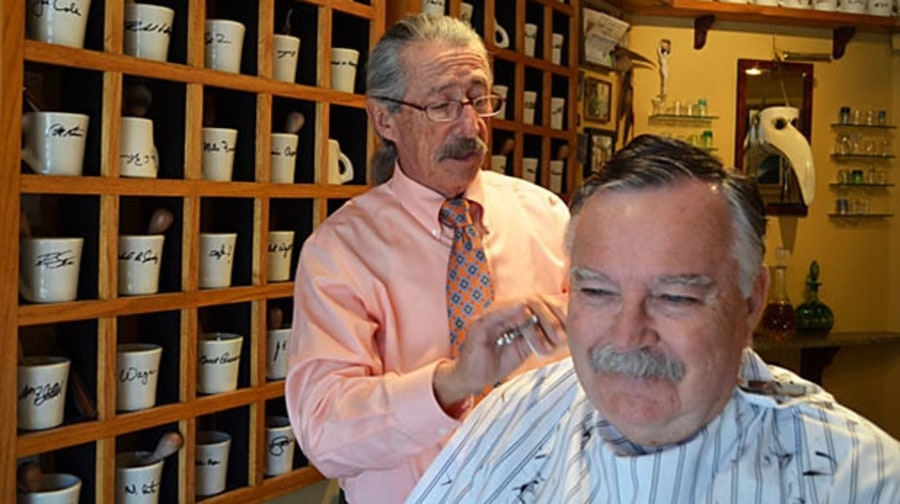 Member's Only Barber Shop in Santa Barbara