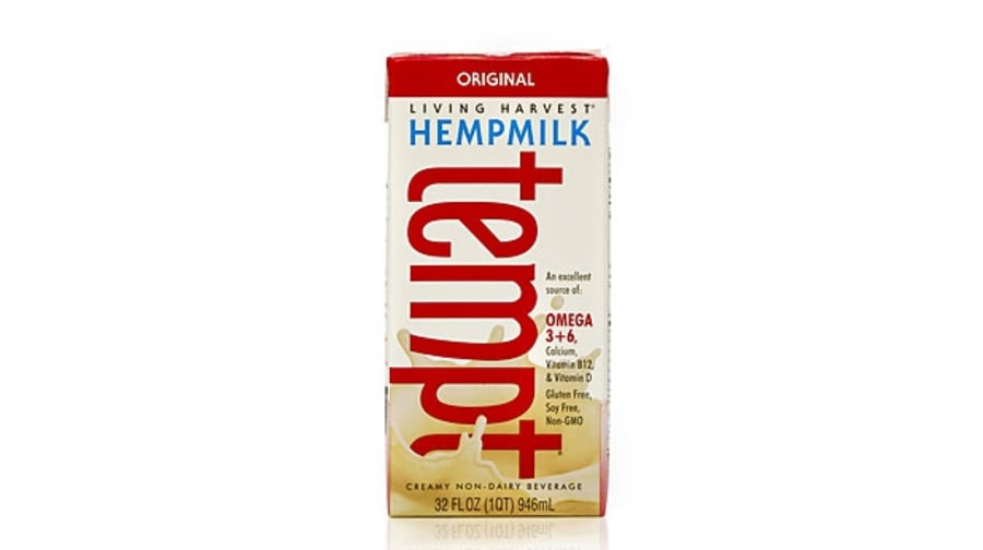 Hemp milk (70 calories; 2g protein)