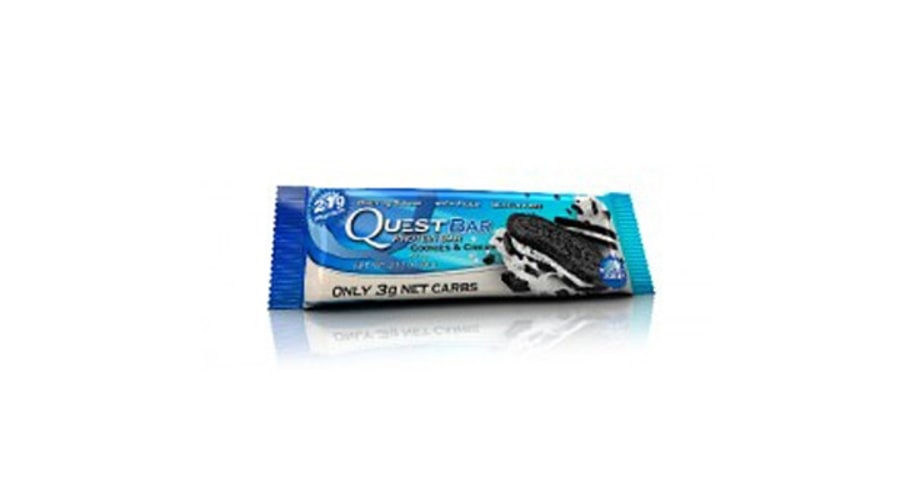Quest Protein Bar Cookies & Cream