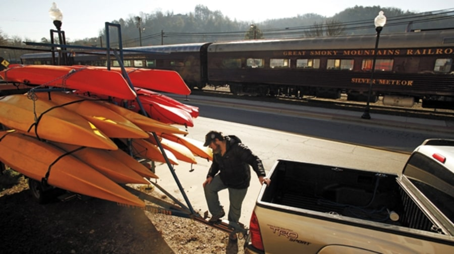 Kayak Roof Rack For Cars >> Bryson City, North Carolina   The 10 Best Mountain Towns in America   Men's Journal