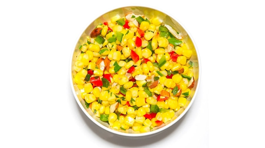 Cold corn salsa