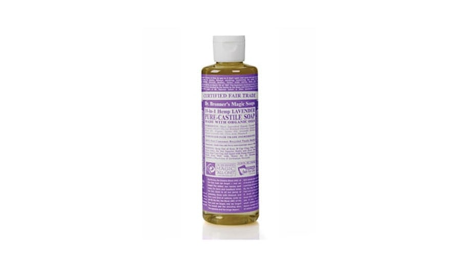 Best for Showering Outdoors: Dr. Bronner's Liquid Soap