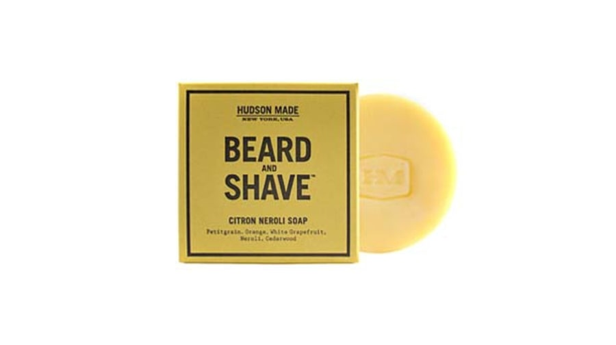 Hudson Made Citron Neroli Beard and Shave Soap