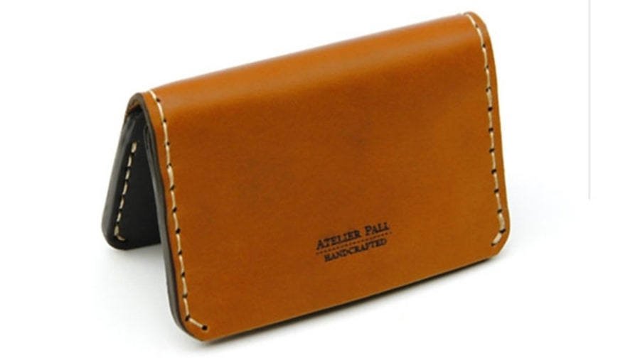 Atelier Pall Slim Leather Wallet