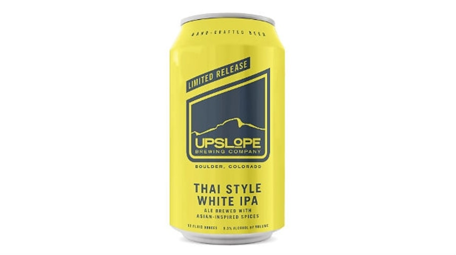 Upslope Brewing's White ThaIPA: Boulder, Colorado