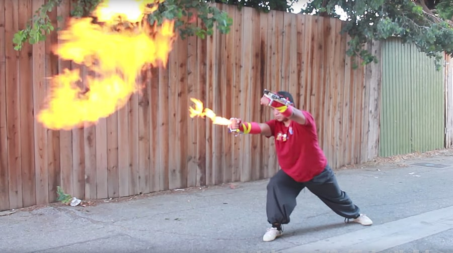 Watch DIY YouTuber Allen Pan Become Real-Life 'Firebender'