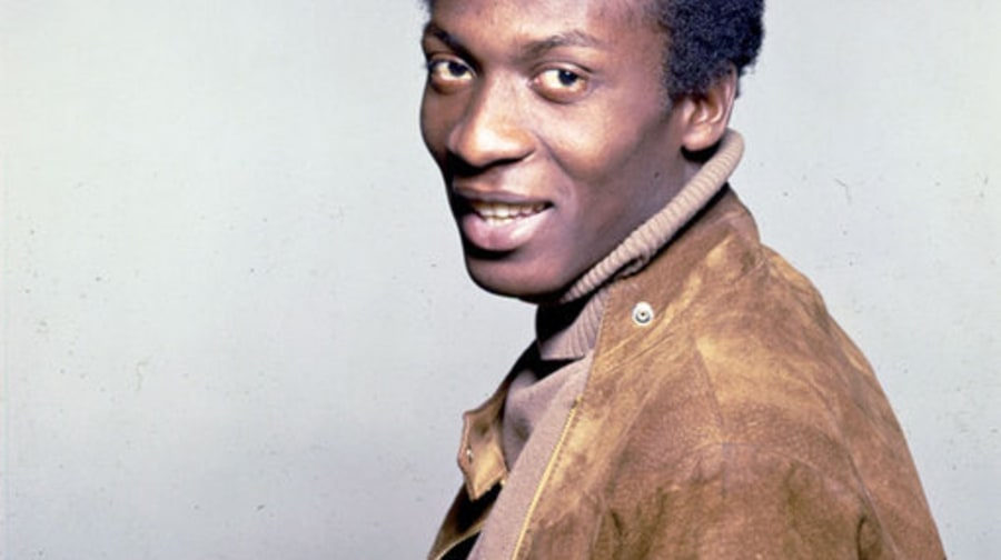 Jimmy Cliff: 1960: Headshot in tan