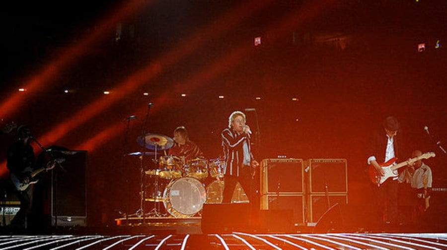 Super Bowl 2010 The WHo: 2