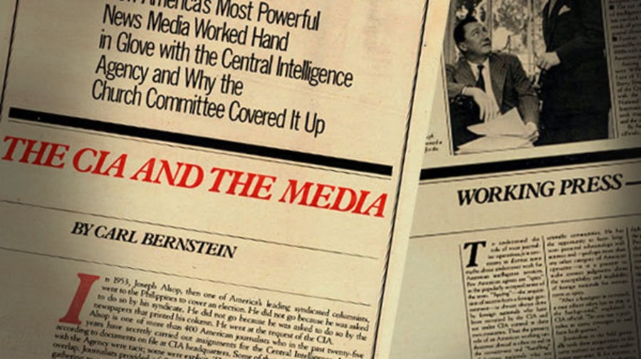 Journalists Exposed as Secret CIA Operatives