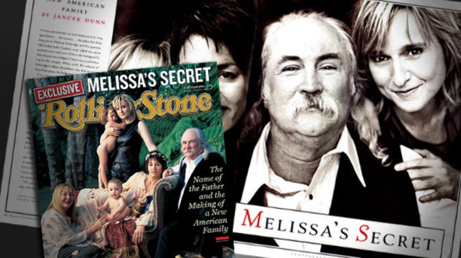 David Crosby Revealed as Father of Melissa Etheridge's Children