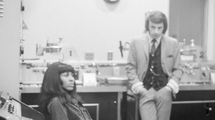 Tina Turner and Phil Spector