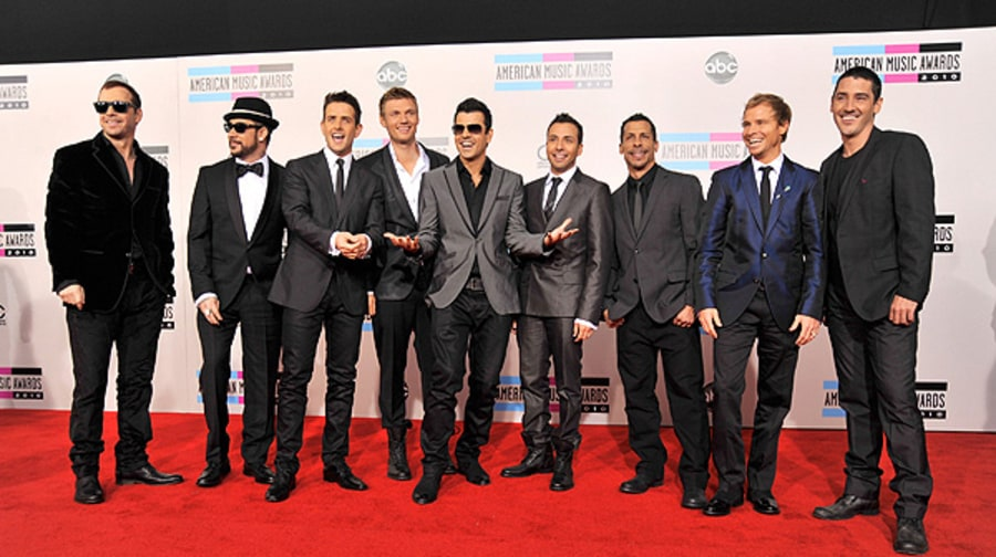 The New Kids on the Block and the Backstreet Boys