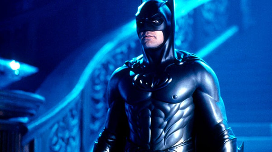 Super Dud: George Clooney as the Caped Crusader in 'Batman and Robin'