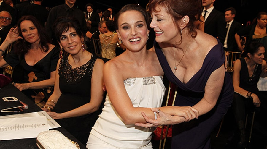 Natalie Portman and Susan Sarandon