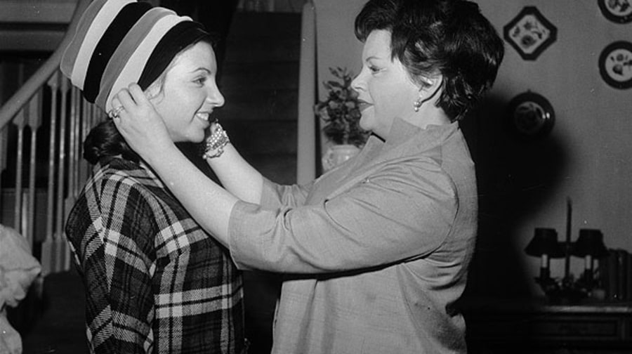 Judy Garland and Ethel Milne