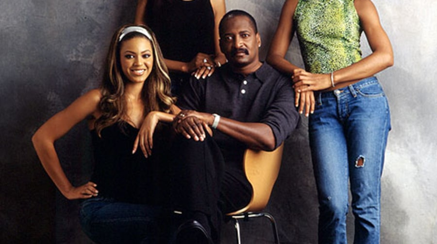 Beyoncé Knowles and Matthew Knowles