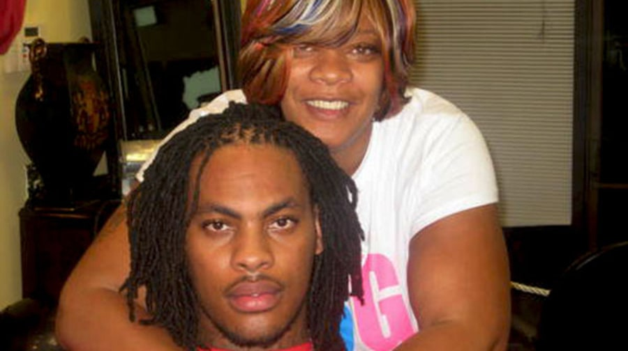 Waka Flocka Flame and Deb Antney