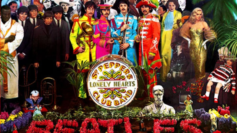 4. 'Sgt. Pepper's Lonely Hearts Club Band'