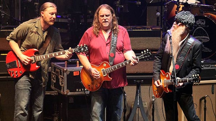 Derek Trucks, Warren Haynes and Billy Gibbons