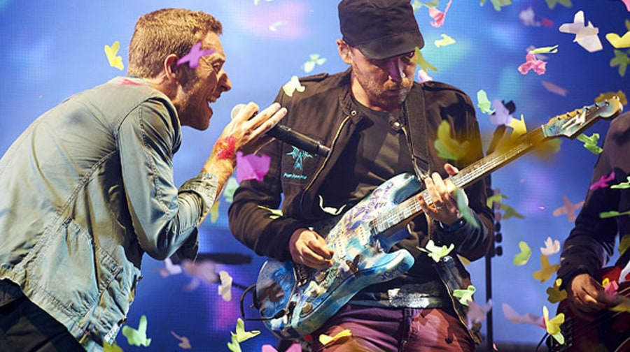Glastonbury: Coldplay