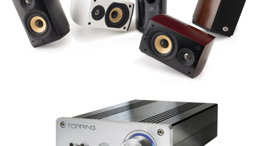 Topping TP30 Amp and PSB Imagine Mini Speakers
