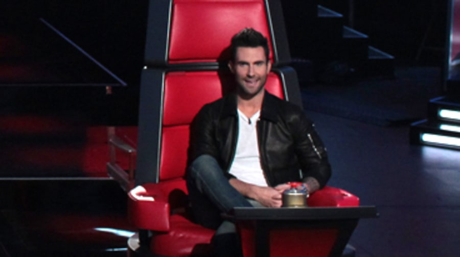 7. Adam Levine Finds His Groove on 'The Voice'