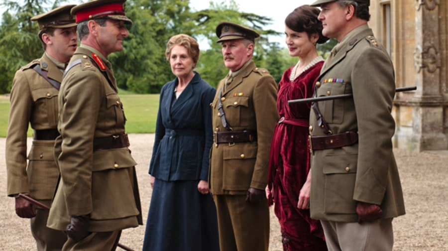 'Downton Abbey' (PBS, 1/8)
