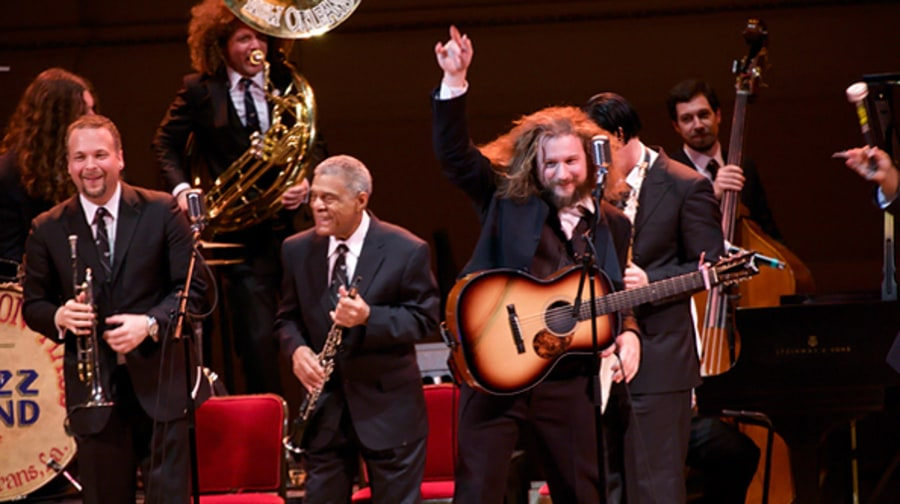 The Preservation Hall Jazz Band with Jim James