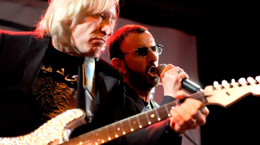 Joe Walsh and Ringo Starr