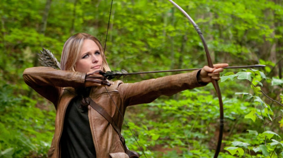 Miranda Lambert as Katniss Everdeen