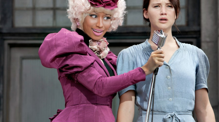 Nicki Minaj as Effie Trinket