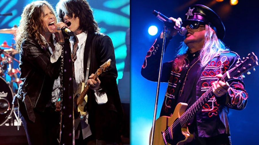 Aerosmith and Cheap Trick
