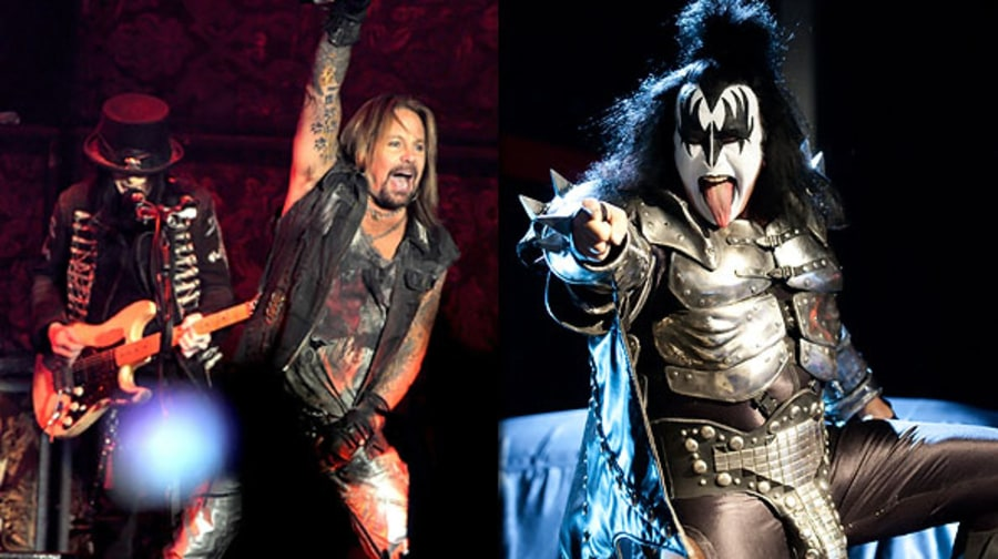 Motley Crue and Kiss