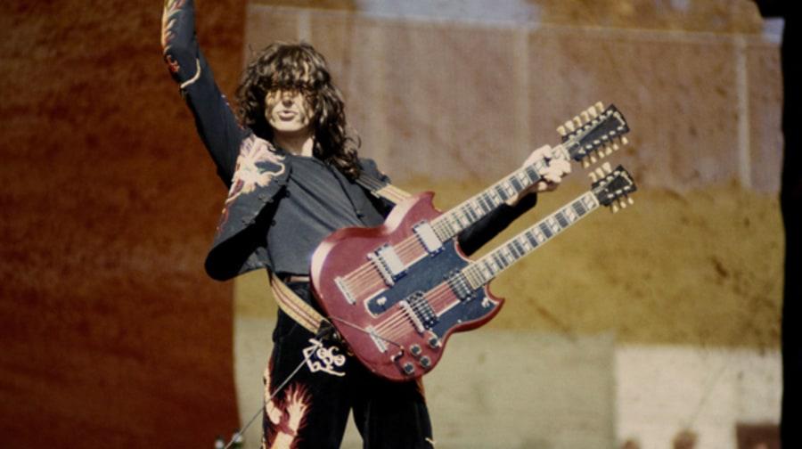 Jimmy Page's double-ne...
