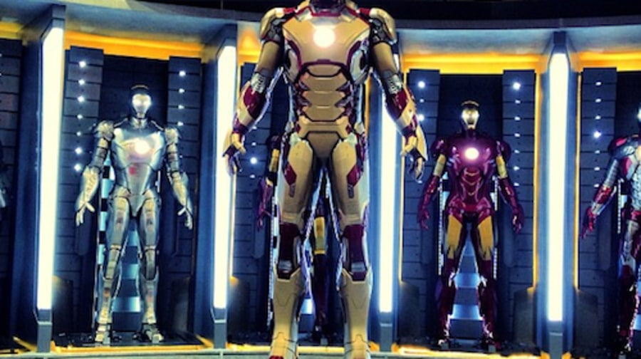 The New Iron Man Suit