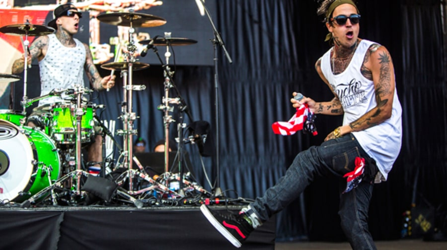 Travis Barker and Yelawolf