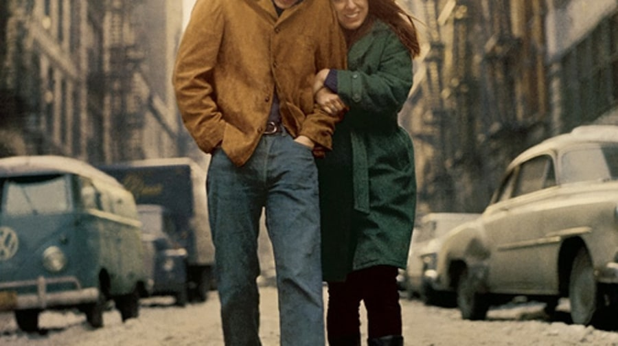 7. 'The Freewheelin' Bob Dylan'