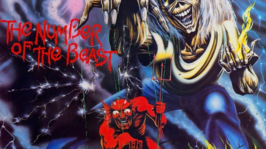 4. Iron Maiden - 'The Number of the Beast'