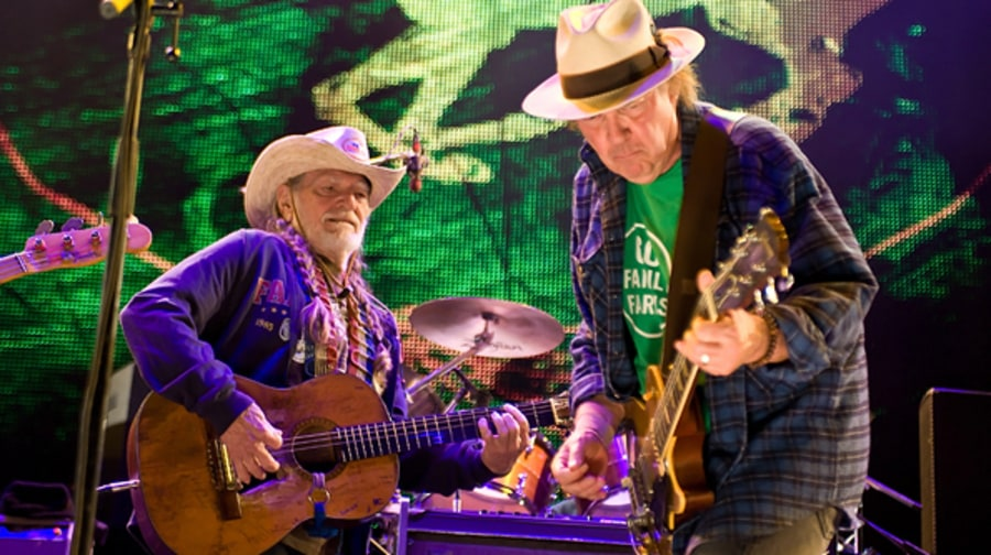 Willie Nelson and Neil Young