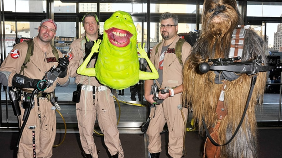 Ghostbusters Meet Chewbacca