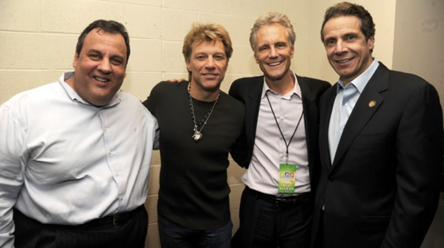 Backstage with Bon Jovi