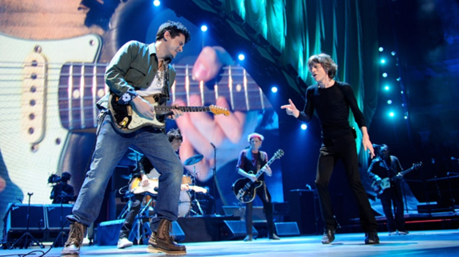 The Rolling Stones with  John Mayer