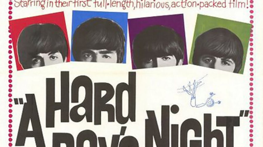 6. 'A Hard Day's Night'